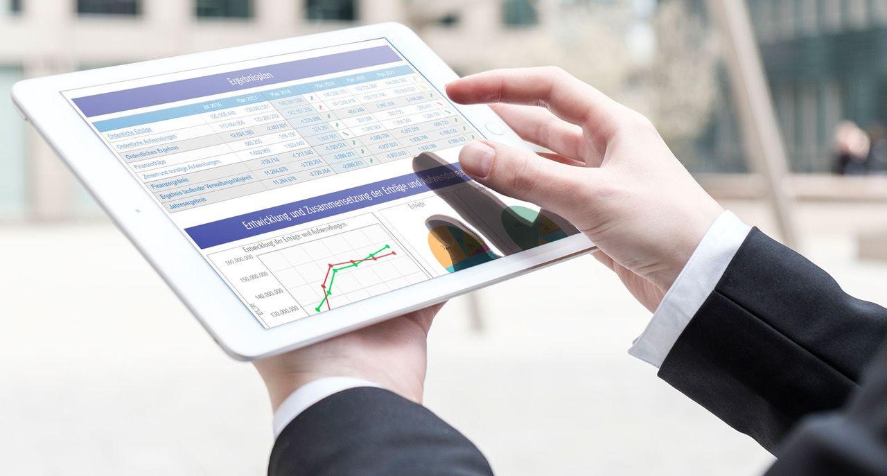 Ganzheitliche interaktive Finanzsteuerung.